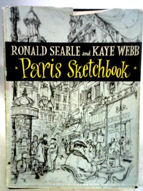Paris Sketchbook By Ronald Searle