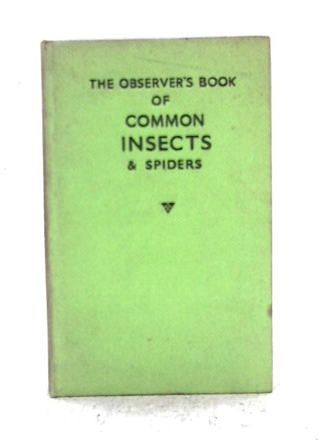 The Observer's Book of Common Insects & Spiders By E.F. Linssen, L. Hugh Newman
