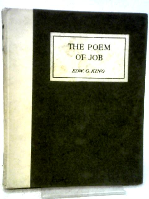 Poem of Job By E. G. King