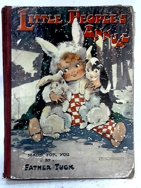 Little Peoples Annual By Father Tuck