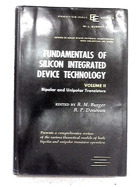 Fundamentals of Silicon Integrated Device Technology Volume II By none stated