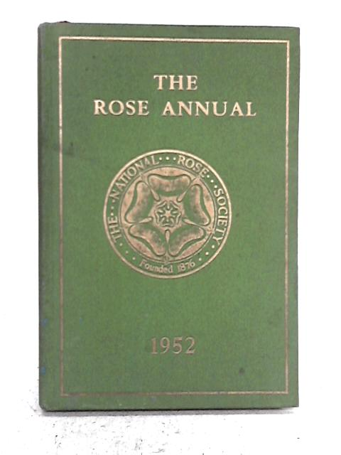 The Rose Annual 1952 By Bertram Park