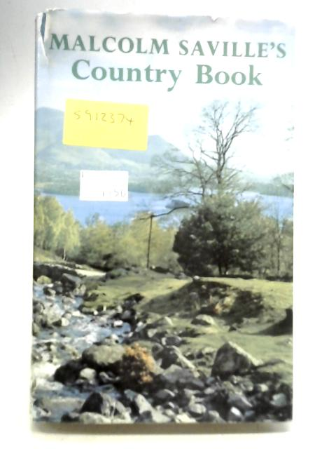 Country Book By Malcolm Saville
