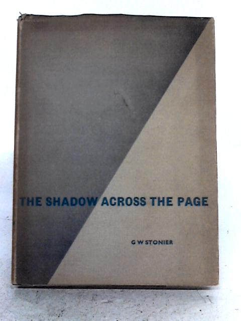 The Shadow Across The Page By G.W. Stonier
