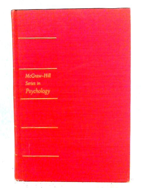 Statistical Principles in Experimental Design By Benjamin J. Winer