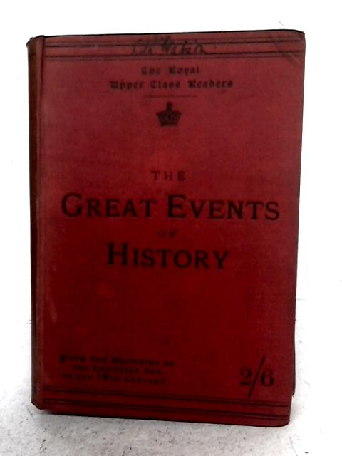 Great Events of History By W.F. Collier