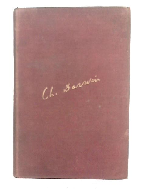 """Journal of Researches During the Voyage of H.M.S. """"Beagle"""" By Charles Darwin"""