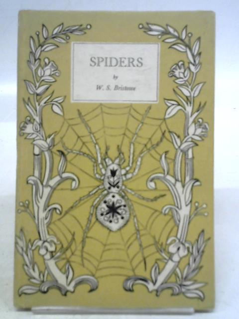 A Book of Spiders. King Penguin No. 35 By W. S. Bristowe