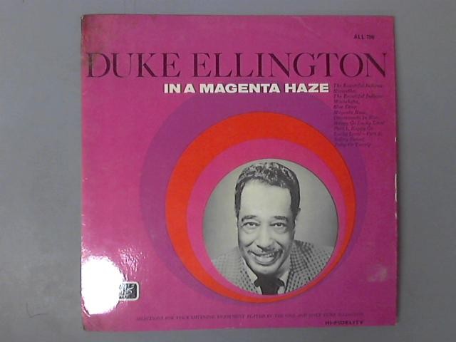In A Magenta Haze by Duke Ellington