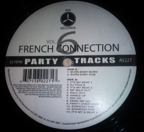French Connection Vol 6 - Party Tracks by DJ LBR