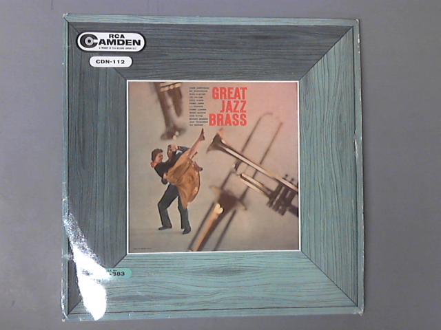Great Jazz Brass LP (CDN-112) by Various