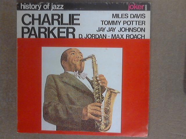 History Of Jazz : Charlie Parker LP SM 3288 by Charlie Parker
