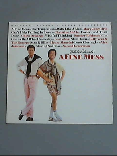 "Music From The Motion Picture Soundtrack ""A Fine Mess"" LP ( ZL72440  ) by Various"