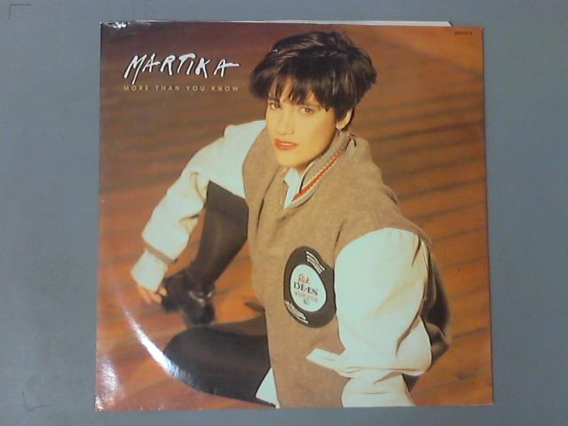More Than You Know 12'' ( 655526 6 ) by Martika