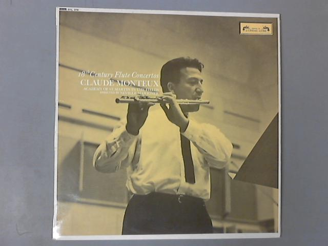 18th Century Flute Concertos LP ( SOL 279  ) by Neville Marriner , Claude Monteux