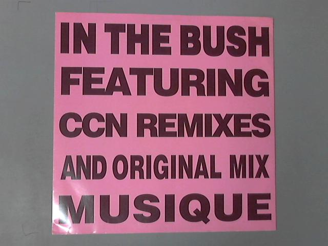 In The Bush 12'' ( WGAF 12 106 ) by Musique