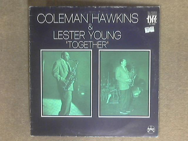 Together LP BLJ 8037 by Coleman Hawkins / Lester Young