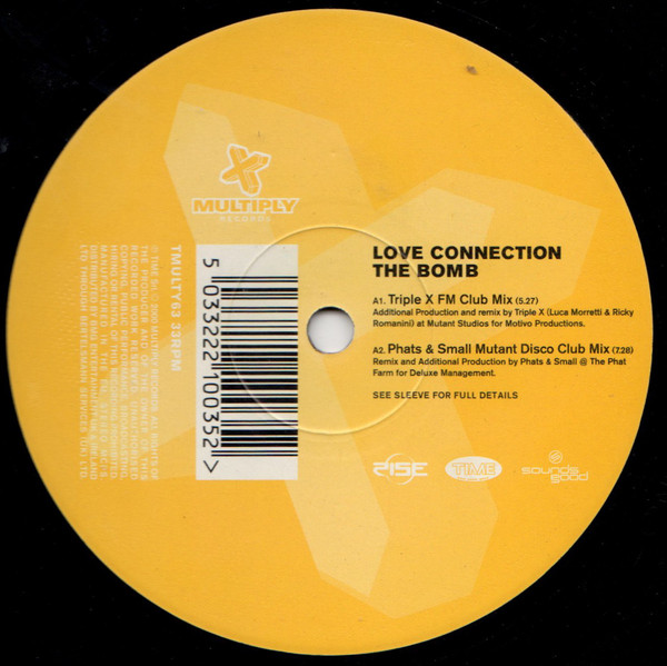 The Bomb 12'' ( 12MULTY63P ) by Love Connection
