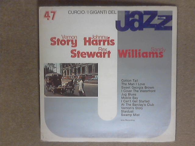 I Giganti Del Jazz Vol. 47 LP gat by Rex Stewart / Sandy Williams / Vernon Story / Johnny Harris