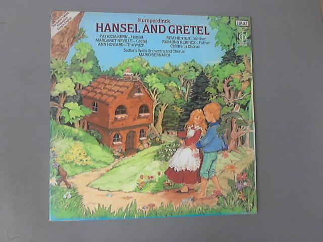 The Story Of Hansel And Gretel 2LP Gat . ( CFPD 4432 ) by Patricia Kern