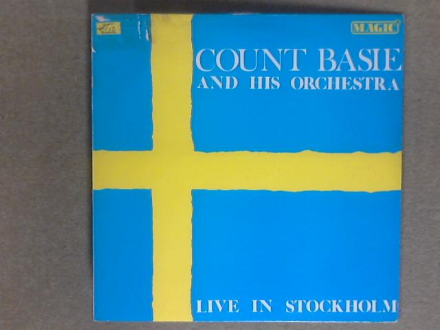 Live In Stockholm LP AWE15 by Count Basie & His Orchestra