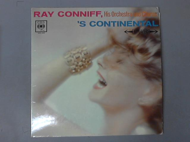s Continental  LP ( SBPG 62009 ) by Ray Conniff And His Orchestra & Chorus