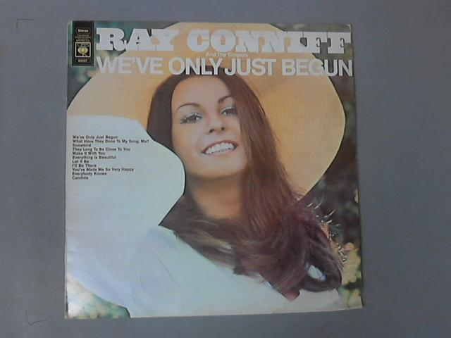 We've Only Just Begun  LP ( S64247 ) by Ray Conniff And The Singers