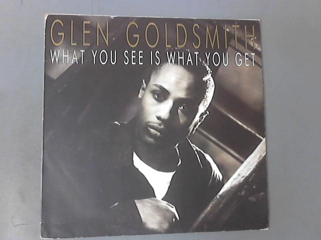 What You See Is What You Get 12'' ( PL 71750 ) by Glen Goldsmith