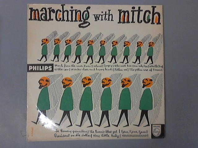 Marching With MItch LP ( B 07318 L ) by Mitch Miller & His Orchestra