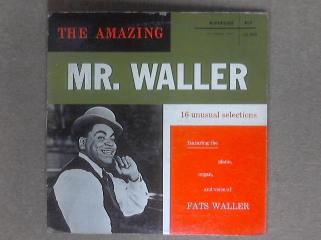 The Amazing Mr. Waller LP RLP 12-109 By Fats Waller