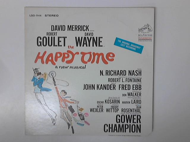 The Happy Time LP LSO-1144 By David Merrick (2)