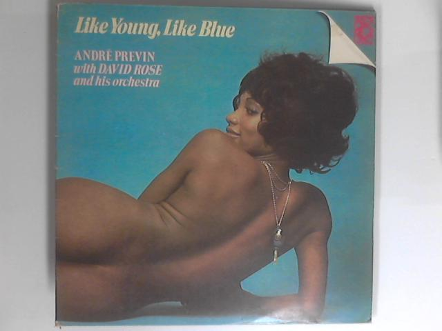 Like Young, Like Blue 2xLP 1st 2682 027 By André Previn / David Rose