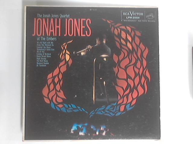 Jonah Jones At The Embers LP By The Jonah Jones Quartet