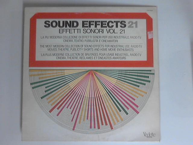 Sound Effects Vol. 21 LP By Unknown