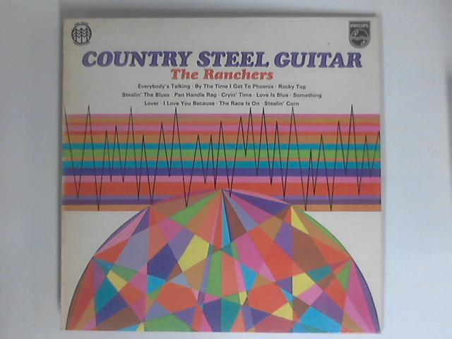 Country Steel Guitar LP by The Ranchers