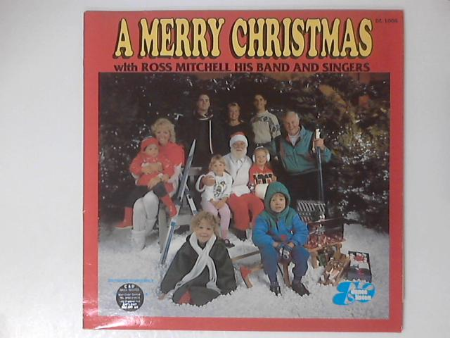 A Merry Christmas LP by Ross Mitchell
