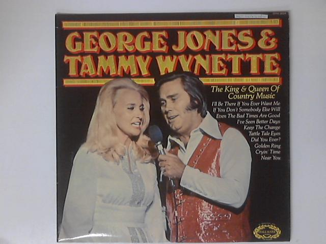 The King And Queen Of Country Music LP by George Jones & Tammy Wynette