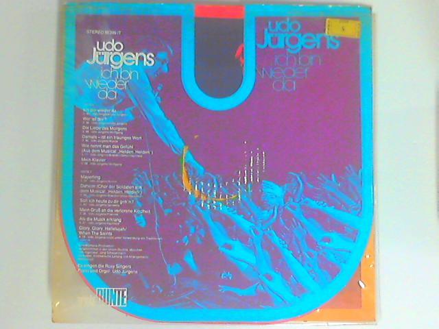 Ich Bin Wieder Da LP 1st By Udo Jürgens