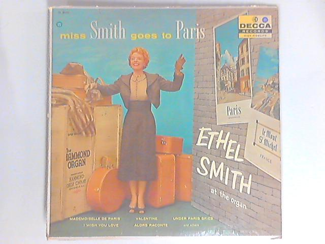 Miss Smith Goes To Paris LP By Ethel Smith