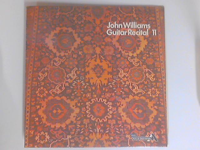 Guitar Recital II LP by John Williams