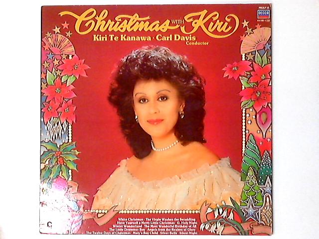 Christmas With Kiri LP by Kiri Te Kanawa