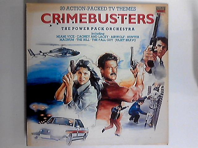 Crimebusters LP 1sty by The Power Pack Orchestra