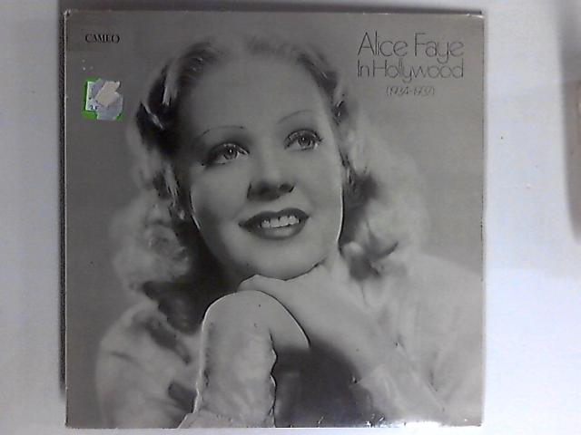 In Hollywood (1934-1937) LP 1st by Alice Faye