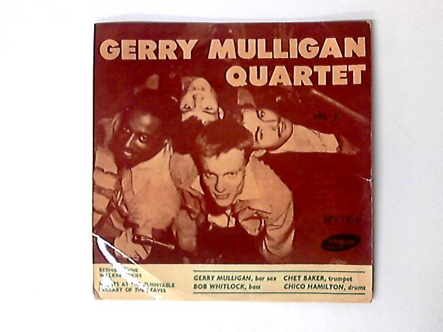 Vol 3 EP by Gerry Mulligan Quartet