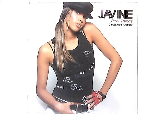 Real Things (D'Influence Mixes) Promo 12in by Javine