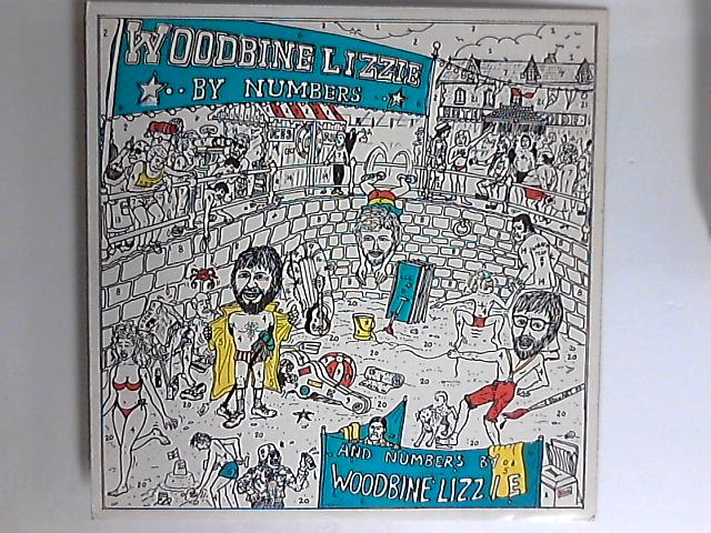 By Numbers LP SIGNED By Woodbine Lizzie