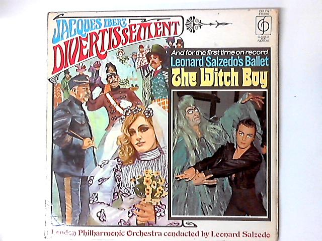 Divertissement / The Witch Boy LP by Jacques Ibert