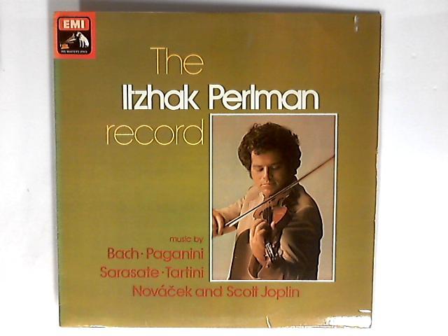 The Itzhak Perlman Record LP by Itzhak Perlman