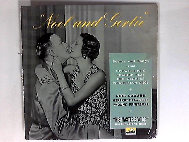 Noel And Gertie LP 1st By Noël Coward