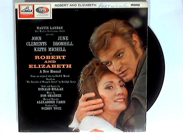 Robert And Elizabeth LP 1st by Martin Landau & Various
